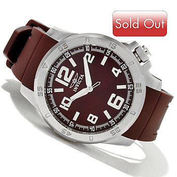 619-650 - Invicta Men's Specialty Sport Quartz Stainless Steel Strap Watch w/ 3-Slot Dive Case