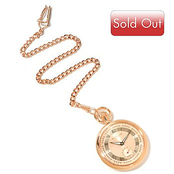 619-811 - Stührling Original Men's Montres De Poche Colmar Mechanical Pocket Watch
