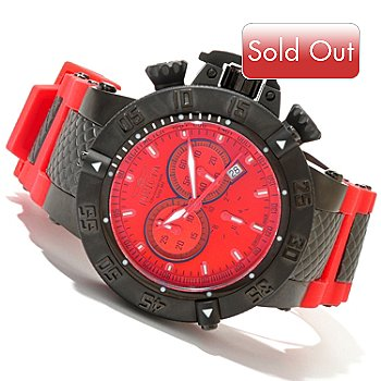 619-819 - Invicta Men's Subaqua Noma III Swiss Quartz Chronograph Silicone Strap Watch