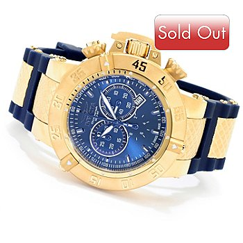 619-924 - Invicta Men's Subaqua Noma III Swiss Quartz Chronograph Silicone Strap Watch