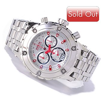 619-948 - Invicta Reserve Men's Specialty Subaqua Swiss Made Quartz Chronograph High Polish Bracelet Watch