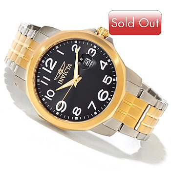 620-004 - Invicta Men's Specialty Quartz Stainless Steel Bracelet Watch