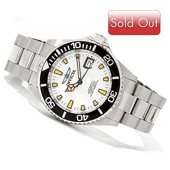 620-013 - Invicta Men's Pro Diver Automatic Stainless Steel Bracelet Watch