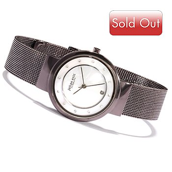 620-164 - Johan Eric Women's Arhus Quartz Stainless Steel Bracelet Watch