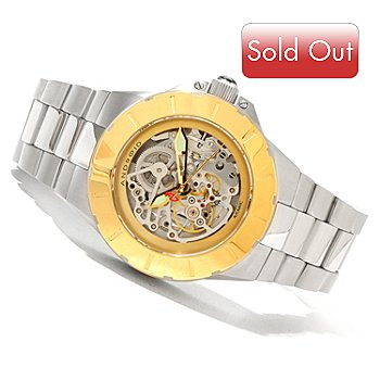 620-362 - Android Men's DM Enforcer Automatic Skeletonized Bracelet Watch