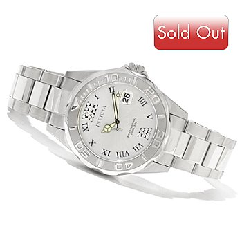 620-391 - Invicta Women's Pro Diver Quartz Stainless Steel Bracelet Watch