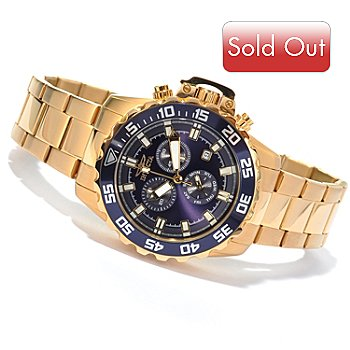 620-458 - Invicta Men's Pro Diver Specialty Quartz Chronograph Bracelet Watch w/ 3-Slot Dive Case