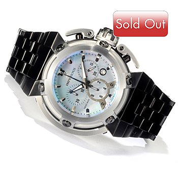620-495 - Imperious Men's X-Wing Swiss Made Quartz Chronograph Mother-of-Pearl Dial Bracelet Watch