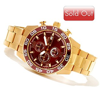 620-705 - Invicta Men's Specialty Quartz Chronograph Stainless Steel Bracelet Watch
