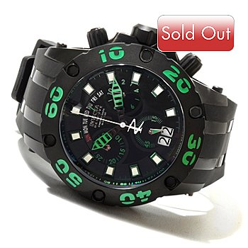 620-729 - Invicta Reserve Men's Specialty Subaqua Scuba Swiss Made Quartz Chronograph Strap Watch