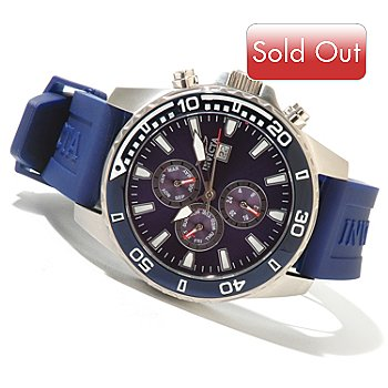 620-734 - Invicta Men's Specialty Sport Quartz Stainless Steel Strap Watch w/ 3-Slot Collector's Box