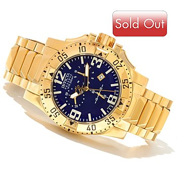 620-859 - Invicta Reserve Men's Excursion Swiss Made Quartz Chronograph Stainless Steel Bracelet Watch