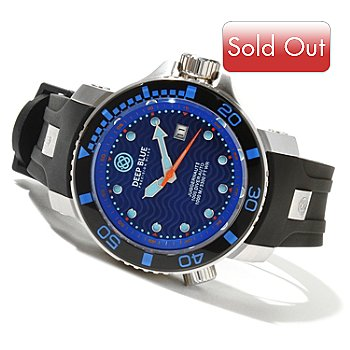 621-350 - Deep Blue Men's Juggernaut II Automatic Stainless Steel Strap Watch