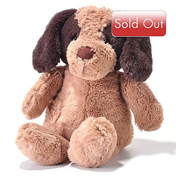 702-494 - Pamela McCoy Collectible Color Blocked Faux Fur Plush Dog