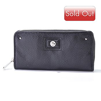 704-513 - Calvin Klein Leather Zip Wallet