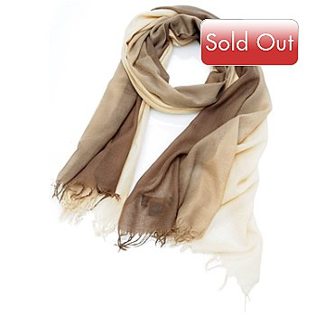 704-564 - Brooks Brothers® Dip Dyed Cashmere Wrap