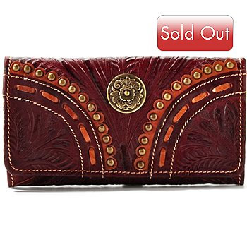 704-621 - American West Leather Flap Wallet