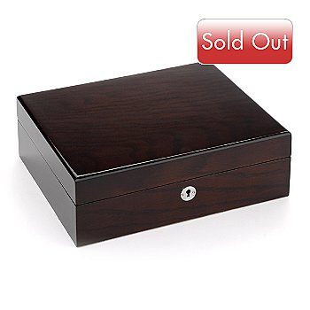 706-682 - Dopp® Wood Grain Locking Jewelry Box