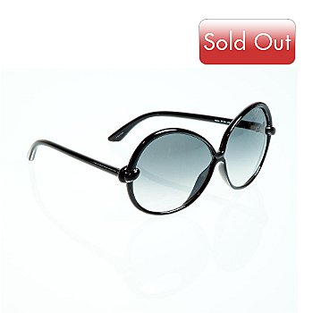 708-513 - Tom Ford Nicole Black Unisex Cat-eye Style Sunglasses
