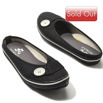 709-485 - Nomad ''Paulette'' Button Detailed Canvas Slides