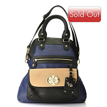 709-928 - Emma Fox Zip Top Foldover Handbag