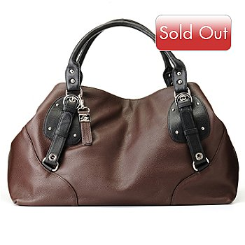 710-773 - Buxton® ''Milano'' Leather Shoulder Bag