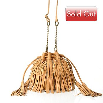 711-079 - Carlos by Carlos Santana ''On the Fringe'' Tassel Detailed Cross Body Bag