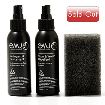712-001 - EMU® Three-Piece Sheepskin & Suede Care Kit