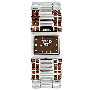 Kenneth Cole Women's Stainless Steel Crystal Watch