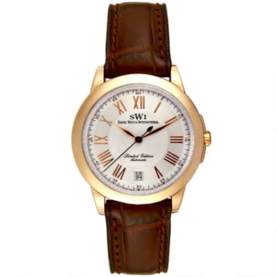 Swiss Watch International Men's 18K Limited Edition (of 100) Chronograph Watch $ 2201.60