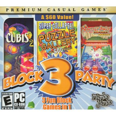 Block Party 3 Three-in-One PC Game Pack