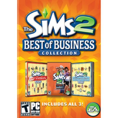Sims 2: Best of Business Collection PC Game Expansion Pack