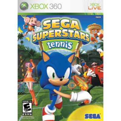 Sega Superstars Tennis Xbox 360 Game