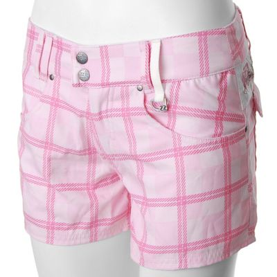 Jet Pilot Women's Juniors Plaid MVP Short. PINK, 9 $ 21.99