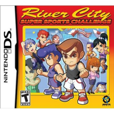 River City Sports Challenge Nintendo DS Game