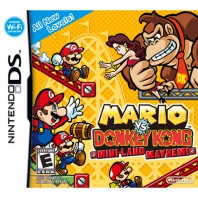 Mario vs Donkey Kong: Miniland Mayhem Nintendo DS Game