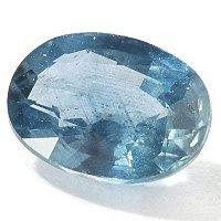 7 x 5mm Oval Cut 1.00ct Blue Sapphire