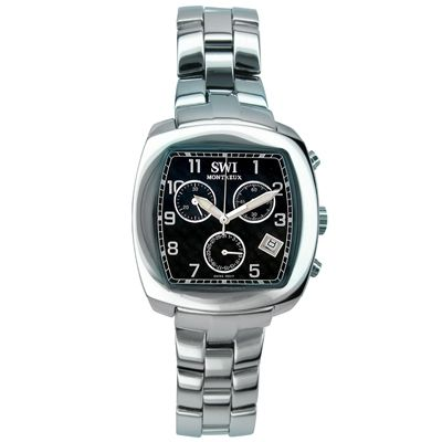 SWI Men's Stainless Steel Quartz Chronograph Watch $ 139.95